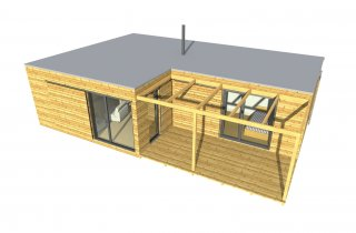 modernes Haus NATURHOUSE