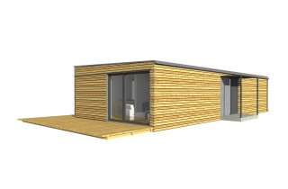 moderne Holzhäuser NATURHOUSE