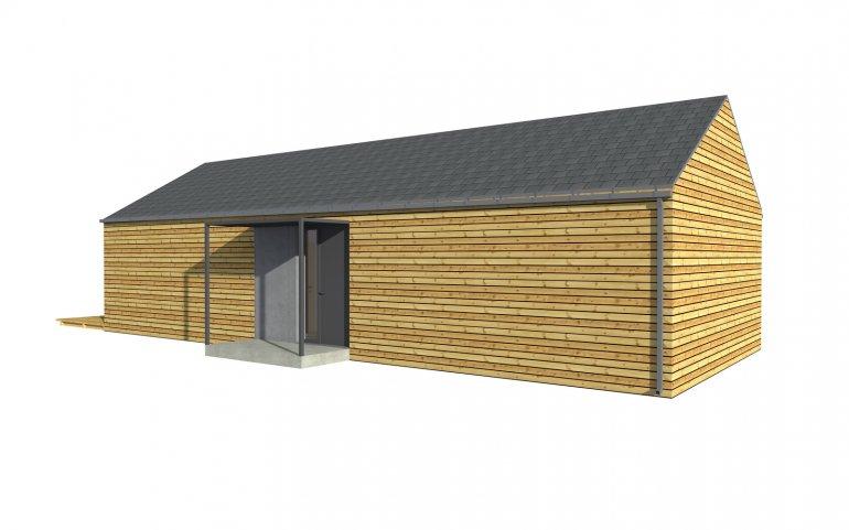 Modulhaus 15x6 m