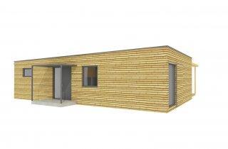 NATURHOUSE - Familienhaus 15x12 m