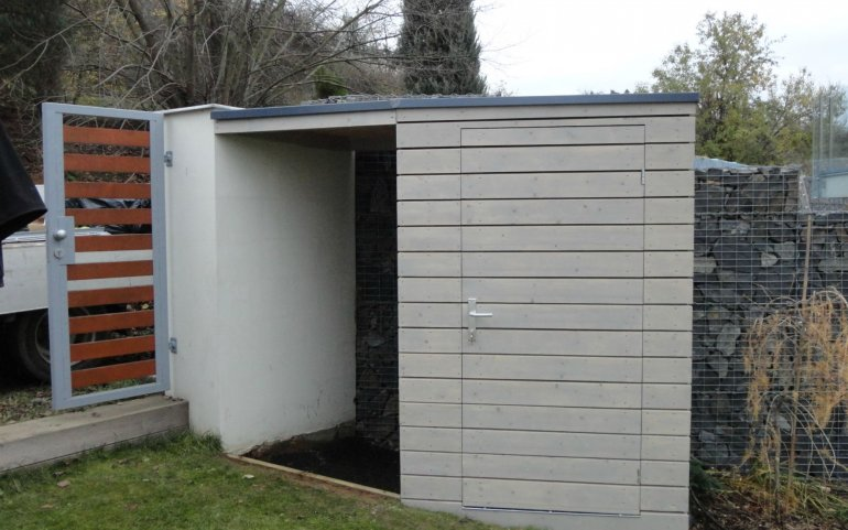 Gerätehaus 1,5x1,5 m