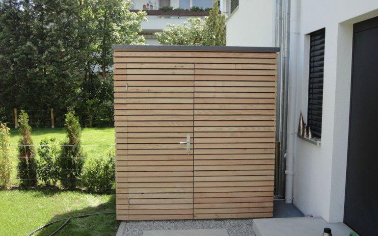 Gartenhäuschen aus Holz 2x1,2 m