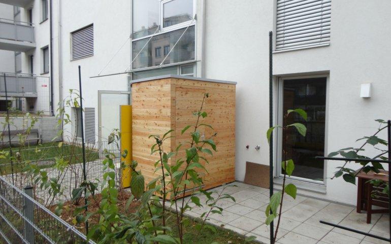 Gartenhäuschen 2x1,2 m