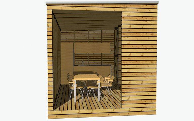 Sommerküche 5x3 m