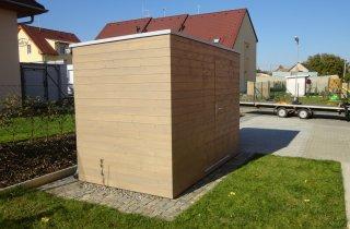 Gartenhaus 3x2 m - NATURHOUSE S5   NATURHOUSE® - moderne Gartenhäuser