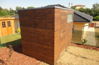 Gerätehaus aus Holz