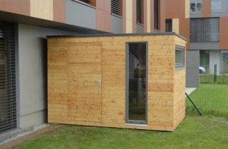Gerätehaus 4x2 m
