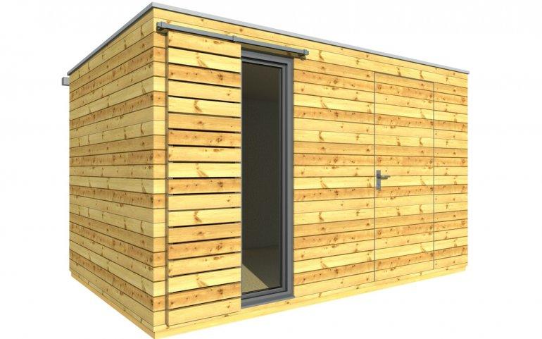 Gartenhütte 4x2,5 m