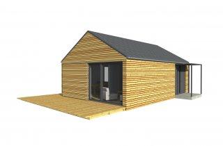 Einfamilienhaus 9x6 m