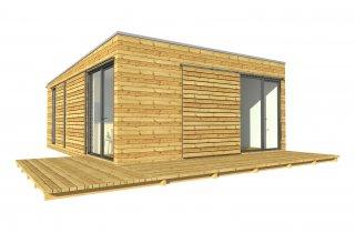 Kleine Haus 9x9 m