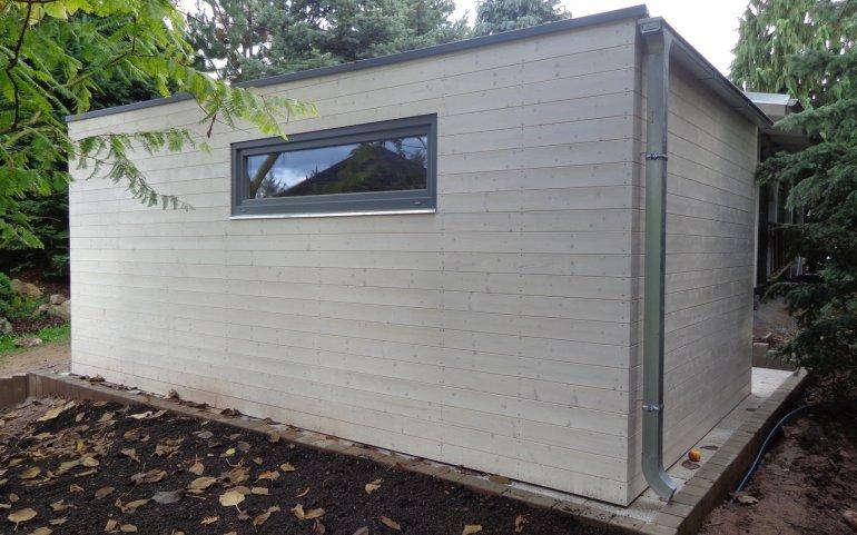 Montierte Holzgaragen 5,7x3,2 m