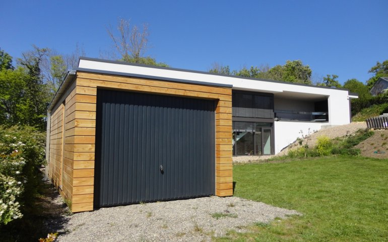 Montierte Holzgaragen 6,3 x 3,2 m