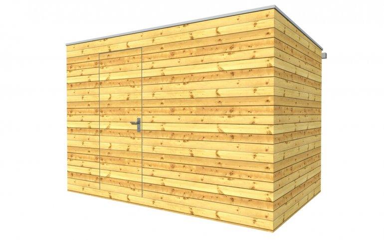 Außenholzsauna 3x2,5 m