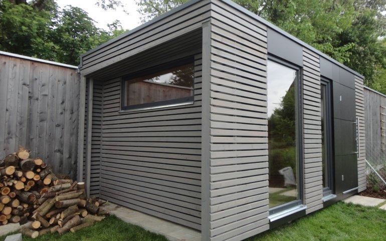 Modernes Gartenhaus NATURHOUSE