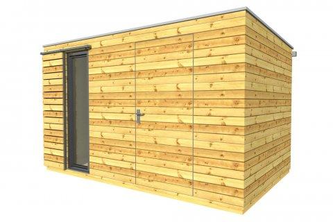 Gartenhaus 4x2,5 m