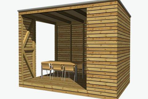 Sommerküche 4x2,4 m