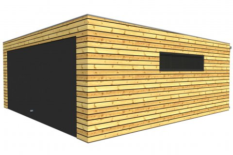 Moderne holzgarage  Holzgaragen und Carports | NATURHOUSE® - - Carports NATURHOUSE