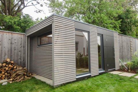 naturhouse® - design gartenhäuser - wochenendhäuser - gerätehäuser ... - Moderne Gartenhuser Zum Wohnen