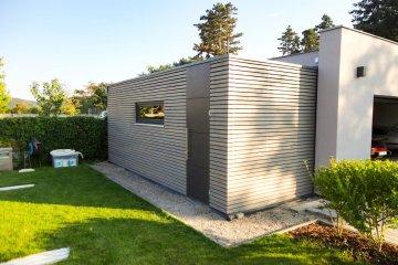 Gartenhaus NATURHOUSE S12 - 6,47 x 2,6 m - Cernosice