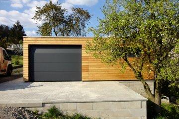 Montierte Holzgarage 7,5 x 3,5 m - Decin