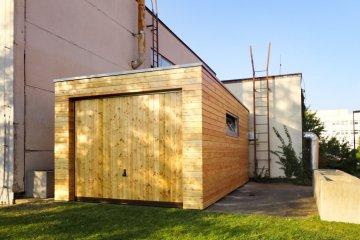 Montierte Holzgarage NATURHOUSE - 5,66 x 3,2 m - Prag