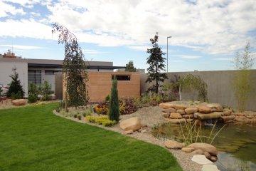 Moderne Gartenhaus S12 - 5 x 2,5 m - Slany