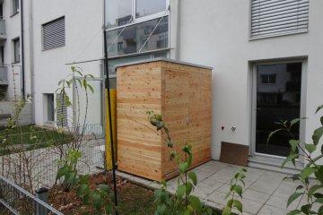Gerätehaus S2,5 - 1,2 x 1,98 m - Wien