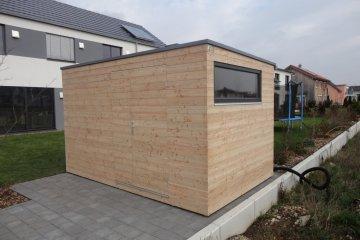 Gartenhaus S9 - 3,78 x 2,41 m - Neu Ulm