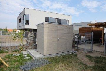 Gerätehaus S4 - 2,75 x 1,5 m - Dolni Brezany