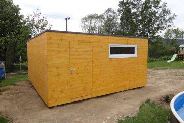 Gartenhaus S24 - 5 x 4,8 m - Jindrichuv Hradec