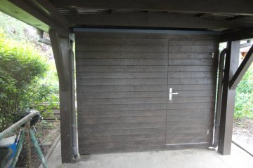Gerätehaus S2,5 - 1 x 2,5 m - Haschendorf/Ebenfurth
