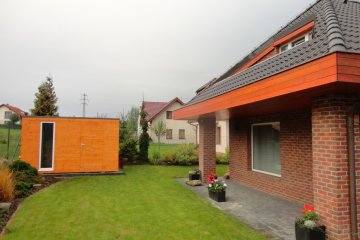 Gartenhaus S7 - 3,78 x 1,95 m - Praha