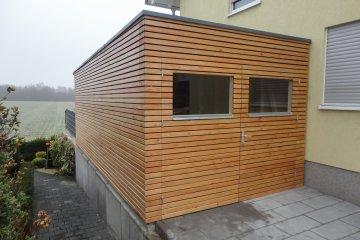 Holzgarage 6,28 x 2,94 m - Biebesheim
