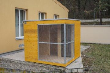 Vogelvoliere NATURHOUSE - 2,5 x 2,5 m - Prag
