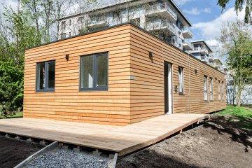 Design Wochenendhauser Moderne Hauser Modulhaus Aus Holz