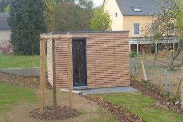 Modernes Gartenhaus 3x3 m - Crauthem (Luxemburg)
