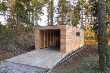 Holzgaragen Und Carports Referenzen Tschechien