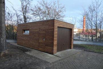 Montierte Holzgarage 6,3 x 3,2 m - Jihlava