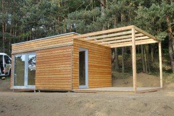 Holzhaus NATURHOUSE - 5 x 3,5 m - Novy Knin