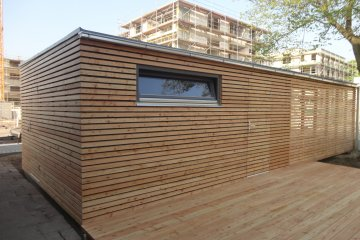 Moderne Gartenhaus S24 + carport - Köln