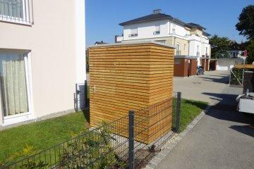 Gerätehaus s2,5 - 1,2 x 1,98 m - Straubing