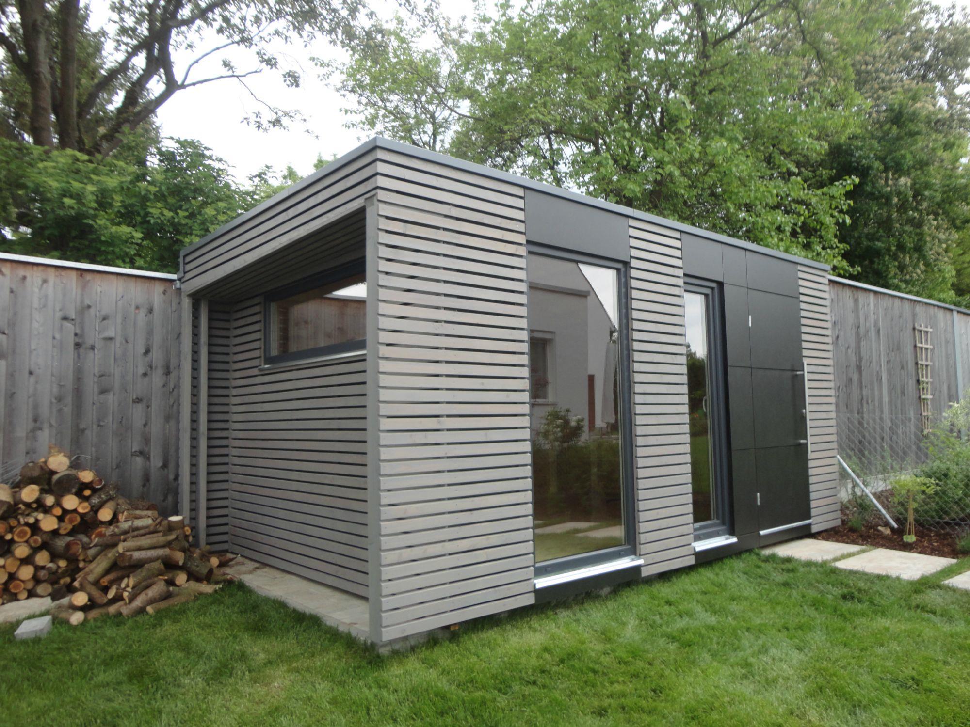 Design Gartenhaus 5x2 5 M Naturhouse S12 Modernes Gartenhaus Mit Flachdach