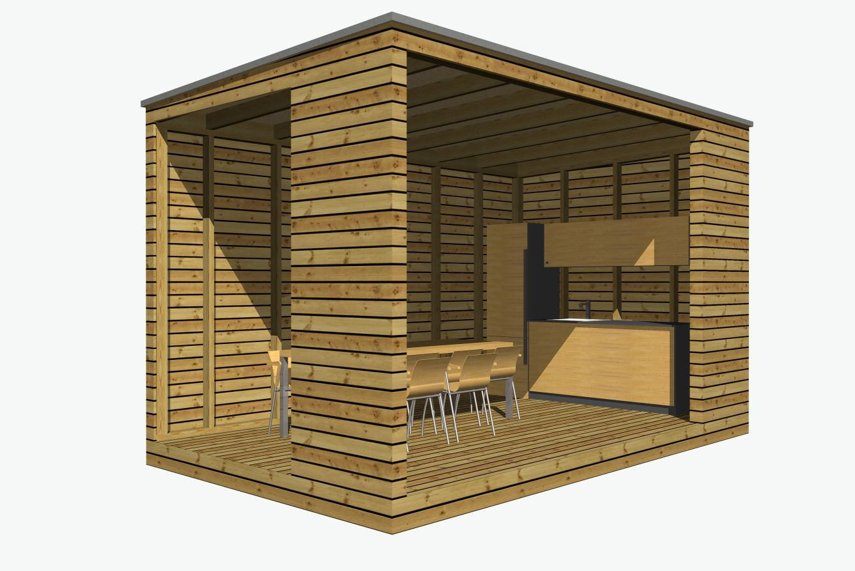 Sommerküche 5x3 m | NATURHOUSE® -