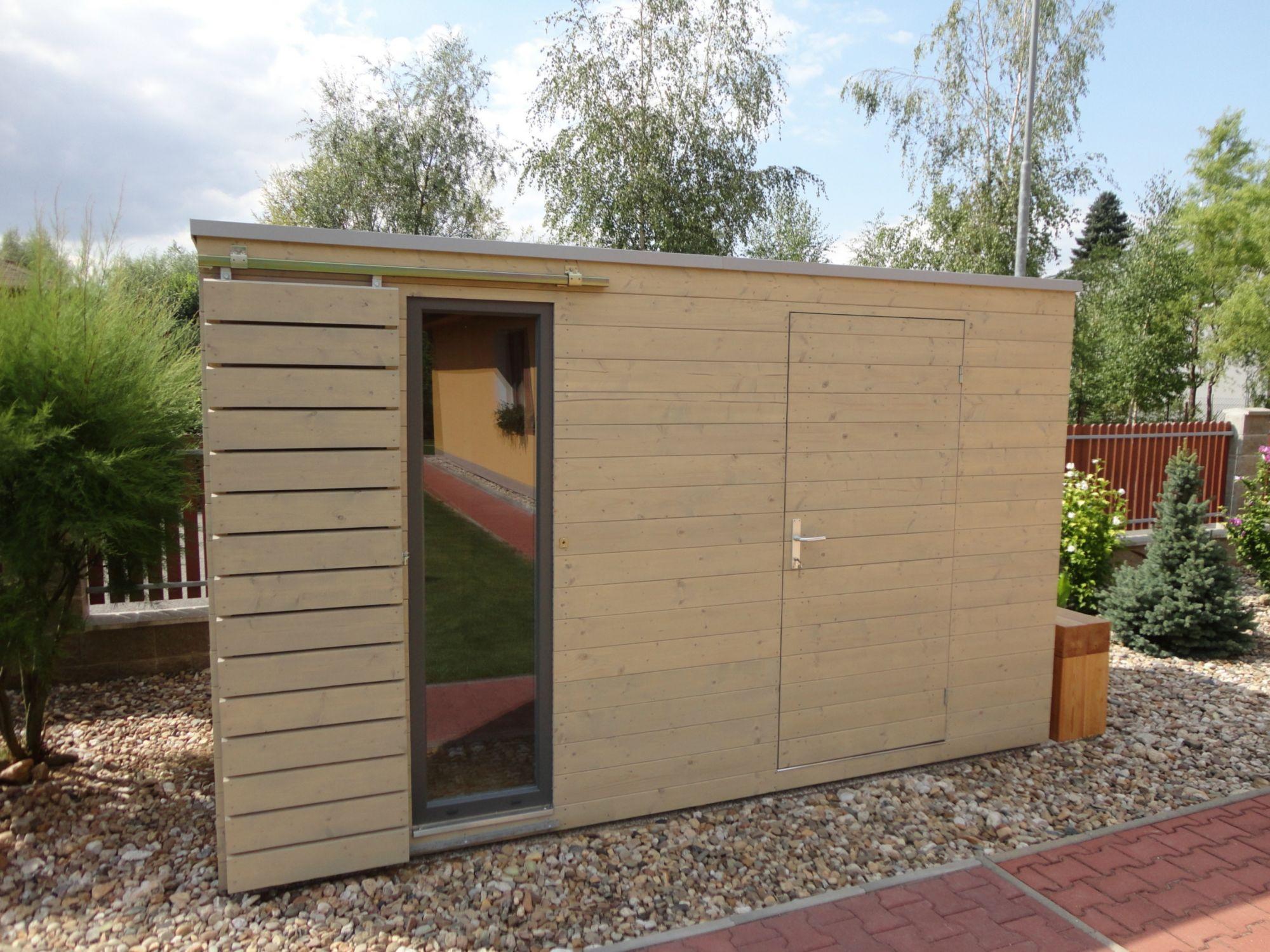 Gartenhaus 4x2 m naturhouse s7 naturhouse moderne for Modernes haus mit holzfenster