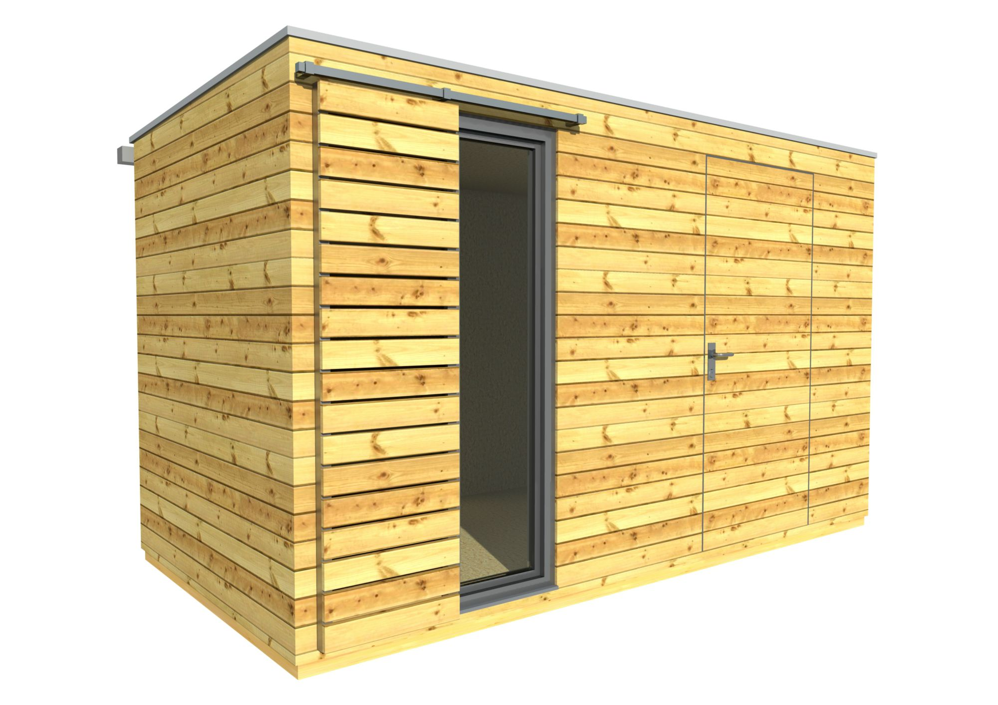 gartenhaus 4x2 m - naturhouse s7 | naturhouse® - moderne gartenhäuser