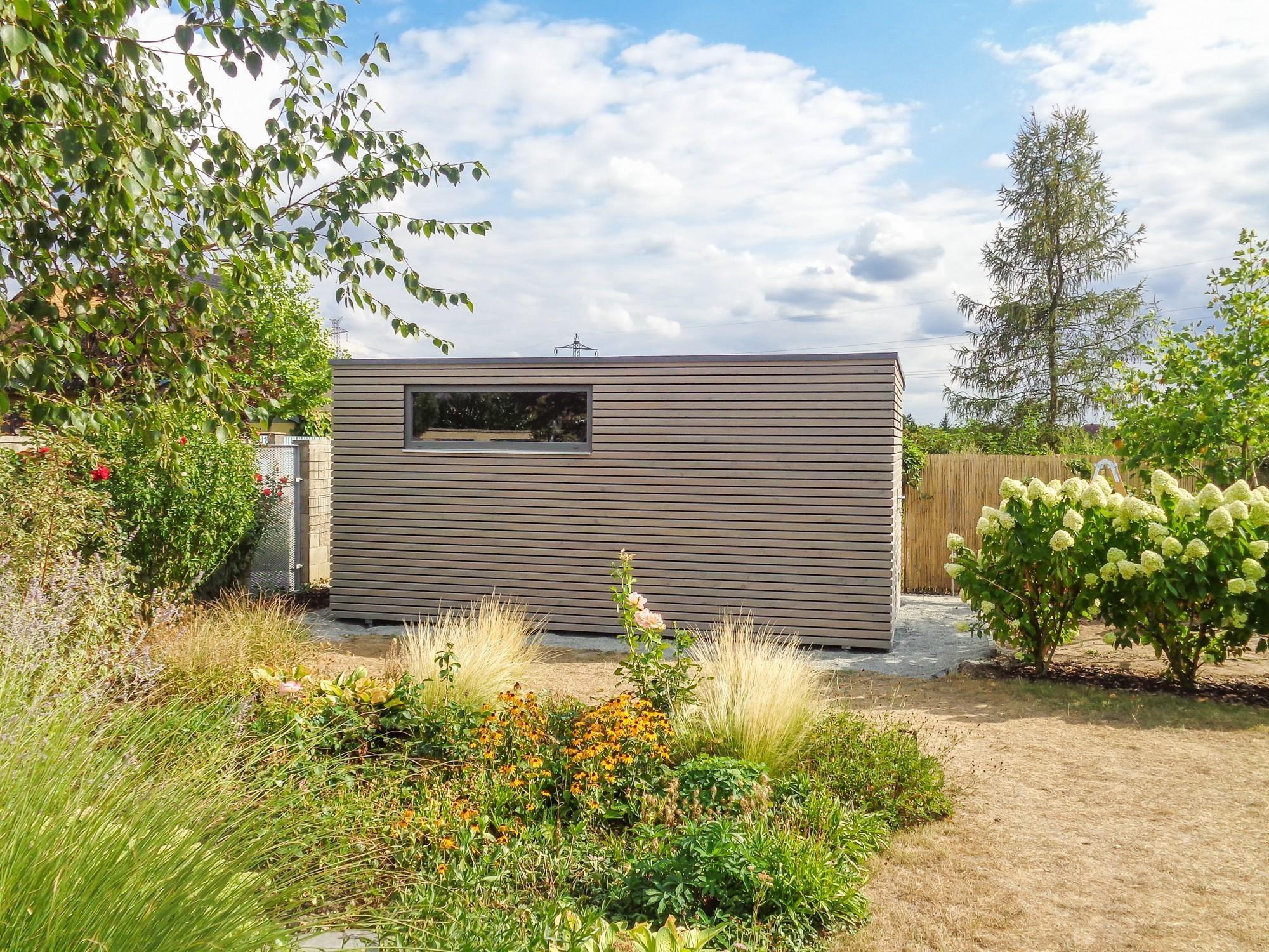 Exclusive Gartenhaus 5x2 5 M Zvole Referenzen Naturhouse