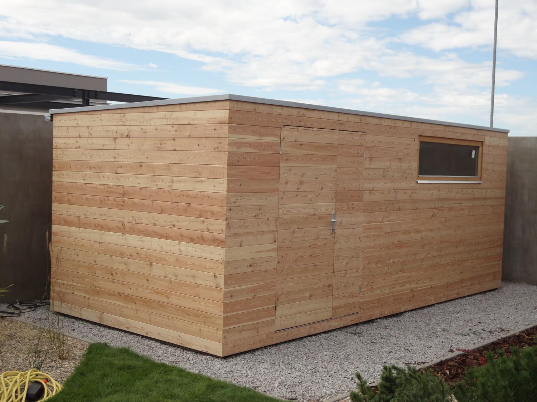 Moderne Gartenhaus S12 - 5 X 2,5 M - Slany - Referenzen Naturhouse ... Modernes Gartenhaus Fur Gartengerate