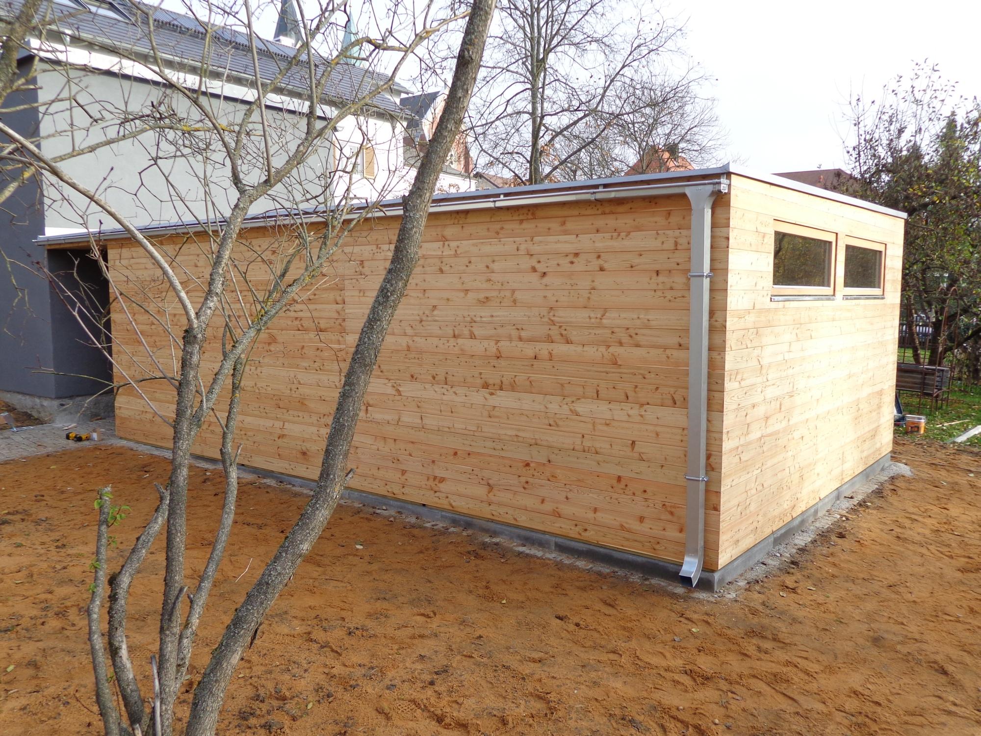 gartenhaus s24 - 4,5x6,9 m - cham - referenzen naturhouse® | naturhouse®