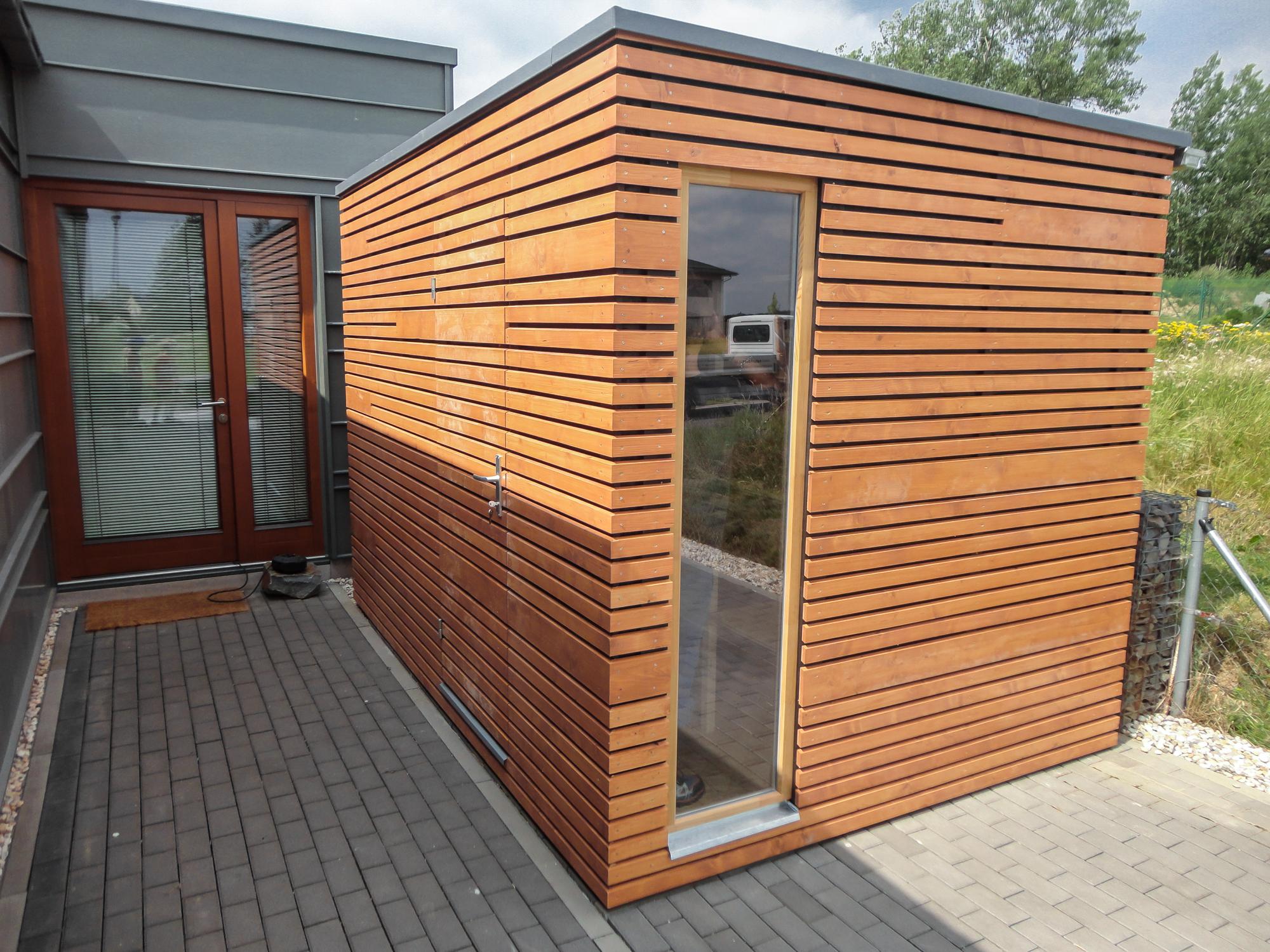 Gartenhaus S5   3,5 x 2,3 m   Opava   Referenzen NATURHOUSE