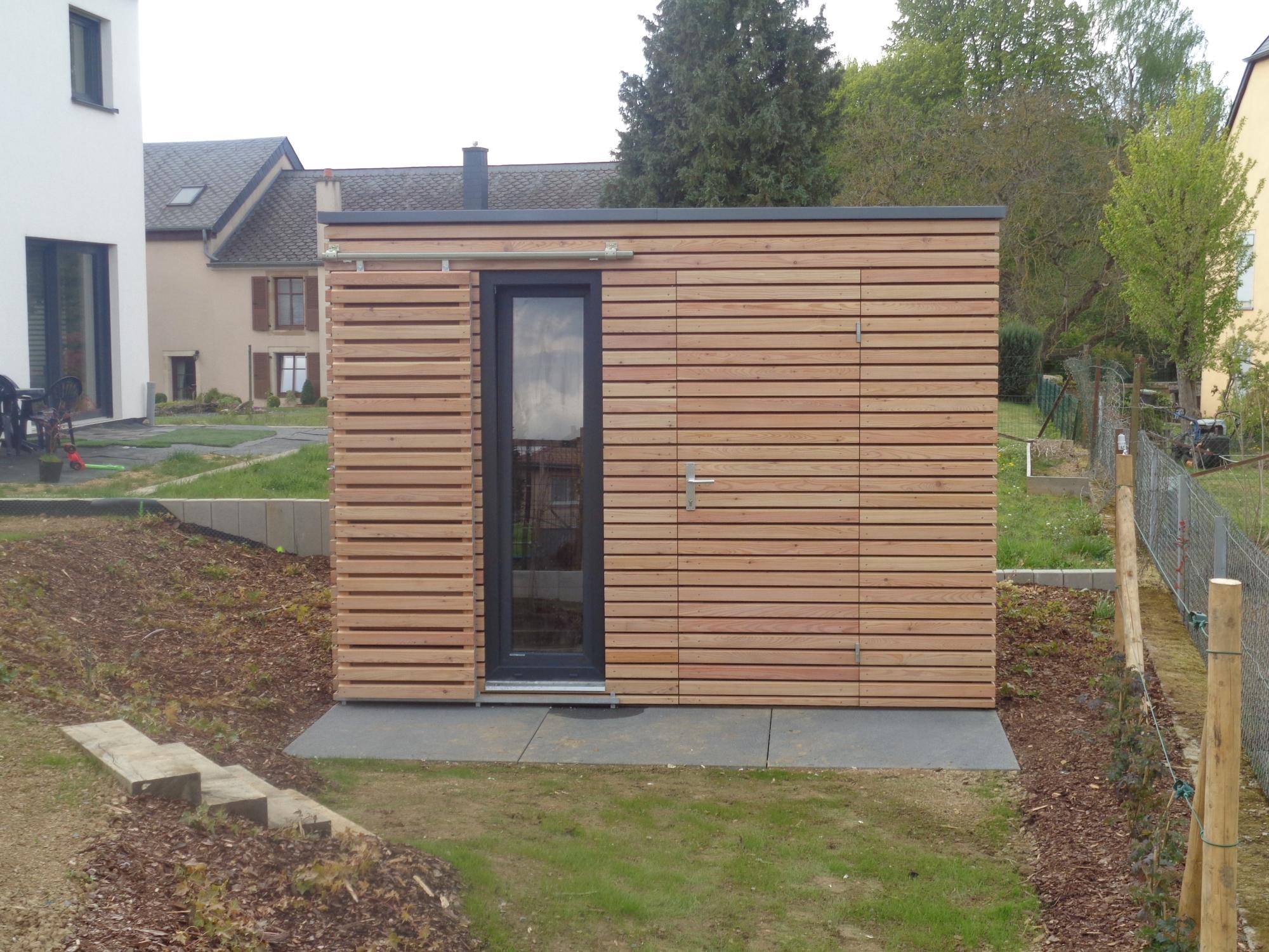 gartenhaus 3x3